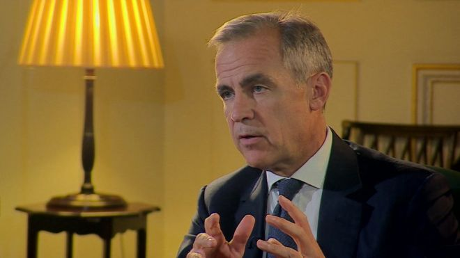 Brexit: Carney warns no-deal could see house prices plunge Image